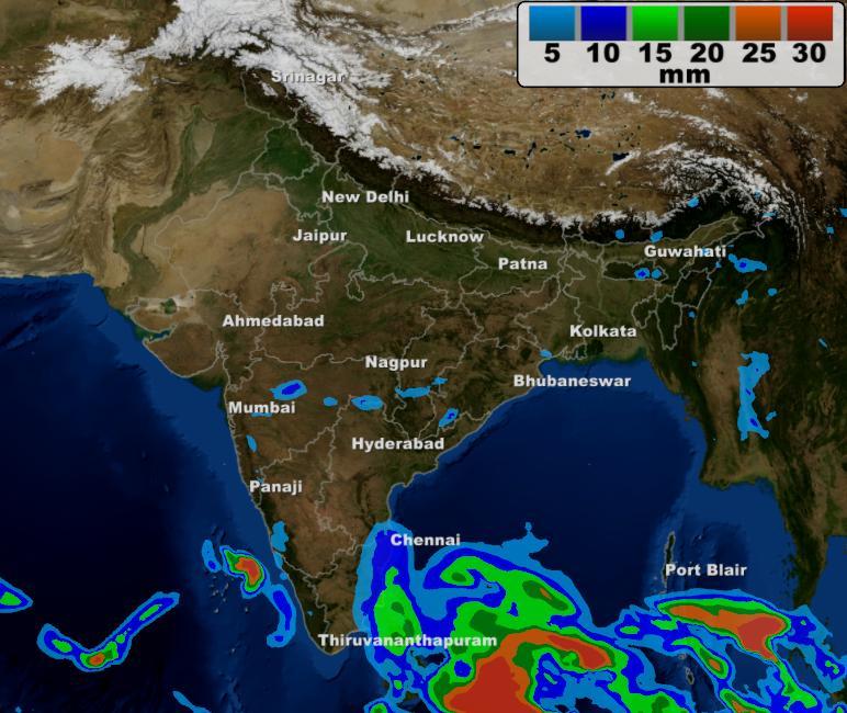 Tamil Nadu Weather Map VEDIC   METEOROLOGY   WEATHER FORECAST   2016   Tamilnadu Mandram